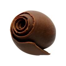 200 szt. BUTTERCURLIES dekoracja z czekolady deserowej ∅ 16/19 mm CHD-DE-19933E0-999 Mona Lisa