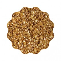 1kg ZŁOTE kryształki dekoracja cukrowa 4 mm 24484 Dekorpol