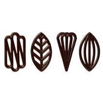 195 szt. Ażurki SPECJAŁ z czekolady deserowej CHD-OD-19824E0-999 Mona Lisa