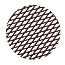 18 szt. KOŁO KRATKA dekoracja z czekolady deserowej ∅ 160 mm CHD-GD-19836E0-999 Mona Lisa