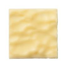 150 szt. KWADRAT JURA FALA dekoracja z białej czekolady 30 mm CHW-PS-19831E0-999 Mona Lisa