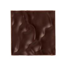 150 szt. KWADRAT JURA FALA dekoracja z czekolady deserowej 30 mm CHD-PS-19830E0-999 Mona Lisa