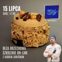 Beza Różana z poziomkami i pistacją - Nagranie ze szkolenia on-line 13.05