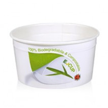 250 szt. KUBKI E-CUP 120 ml BIODEGRADOWALNE DO LODÓW 108CFB Galago
