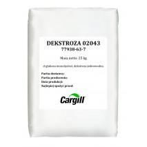25 kg DEKSTROZA KRYSTALICZNA MONOHYDRAT 02043 77938-63-7 Cargill