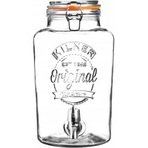 5l Szklany słój/dozownik do lemoniady z kranikiem Kilner