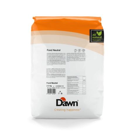 2,5 kg FOND NEUTRAL stabilizator do śmietany smak neutralny Dawn