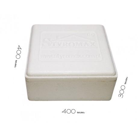 Styropianowy pojemnik termoizolacyjny 400/400/300 mm PN2/300 Styromax