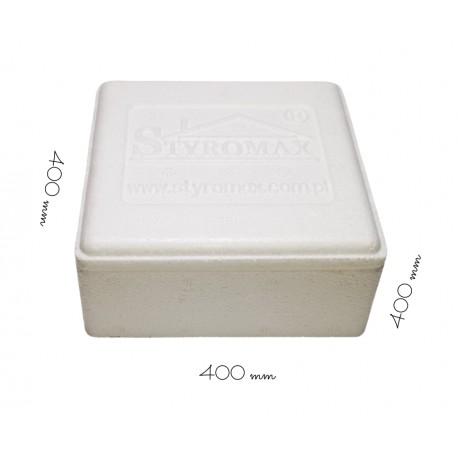 Styropianowy pojemnik termoizolacyjny 400/400/400 mm PN2/400 Styromax