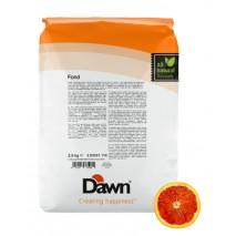 2,5 kg FOND RUBY ORANGE stabilizator do śmietany smak czerwona pomarańcza Dawn