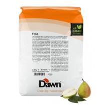 2,5 kg FOND PEAR stabilizator do śmietany smak gruszkowy Dawn