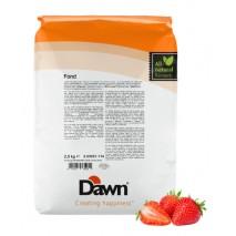 2,5 kg FOND STRAWBERRY stabilizator do śmietany smak truskawkowy Dawn