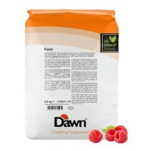 2,5 kg FOND RASPBERRY stabilizator do śmietany smak malinowy Dawn