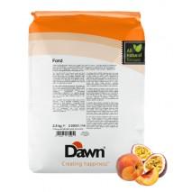2,5 kg FOND PEACH & PASSION stabilizator do śmietany smak brzoskwinia-marakuja Dawn