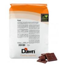 2,5 kg FOND CHOCOLATE stabilizator do śmietany smak czekoladowy Dawn