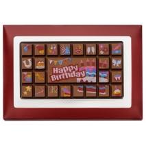 70 g Urodzinowa tabliczka mlecznej czekolady 65431 CCW