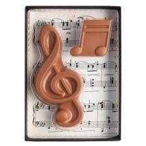 40 g Zestaw klucz wiolinowy i nutka z mlecznej czekolady 65598 CCW