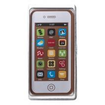 40 g Smartphone w kolorze białym z mlecznej czekolady 65455 CCW