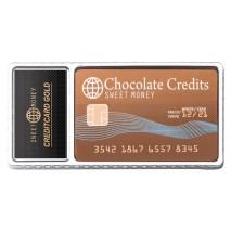 40 g Karta kredytowa z mlecznej czekolady 65238 CCW