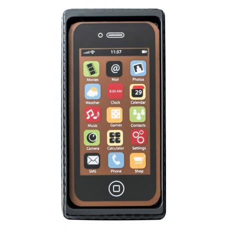 40 g Smartphone w kolorze czarnym z mlecznej czekolady 65454 CCW