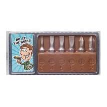 30 g Zestaw wkrętów z mlecznej czekolady 65600 CCW