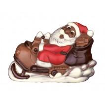 125 g Mikołaj na skuterze śnieżnym z mlecznej czekolady 65561 CCW