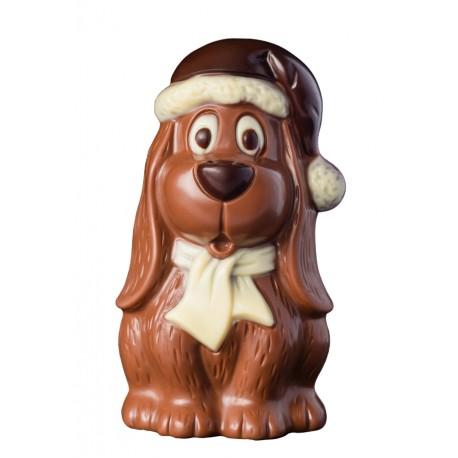 75 g Zimowy pies z mlecznej czekolady 65575 CCW