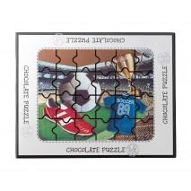 175 g Puzzle football z mlecznej czekolady 65483 CCW