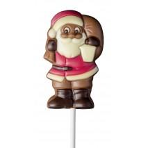 35 g Lizak św. Mikołaj z lampionem z mlecznej czekolady 92424 CCW