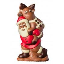 225 g św. Mikołaj z reniferem na plecach z mlecznej czekolady 65565 CCW