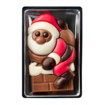 10 g Figurka bożonarodzeniowa 3 wzory z mlecznej czekolady 65504 CCW