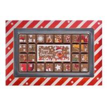 70 g Kalendarz adwentowy z mlecznej czekolady 65671 CCW
