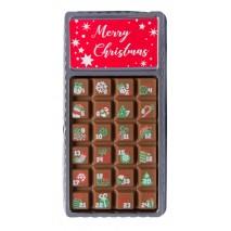 30 g Kalendarz adwentowy mini z mlecznej czekolady 65670 CCW