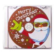 45 g Płyta CD z Mikołajem z mlecznej czekolady 65641 CCW