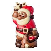 75 g św. Mikołaj z prezentami z mlecznej czekolady 65544 CCW