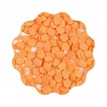 1kg DYNIE pomarańczowe konfetti cukrowe 7 mm Sweet Decor