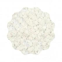 1kg CZASZKI białe konfetti cukrowe 11 mm Sweet Decor