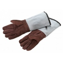 Rękawice kuchenne 5-palcowe długie skórzane 10762 Thermohauser