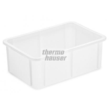 Pojemnik 60l sztaplowany prostokątny biały 59x39 cm 41332 Thermohauser