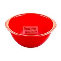 2,5 l Miska z tworzywa czerwona ∅ 230 x h 105 mm 51118 Thermohauser