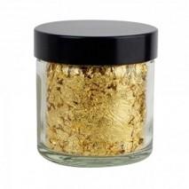 300 mg Złoto jadalne 22 karaty (NR1) w płatkach LAF