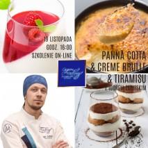 Monoporcja Wiśnia na tarcie - NAGRANIE ze Szkolenia cukiernicze on-line z dn. 17.06