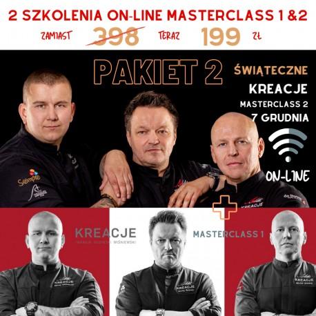 7.12 PAKIET 2 Masterclass 1 & 2 KREACJE Szkolenia ON-LINE