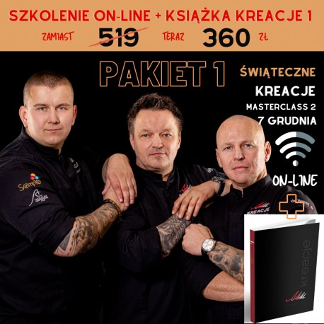 7,12 Masterclass 2 KREACJE ŚWIĄTECZNE Iwaniuk Rosiński Wiśniewski Szkolenia ON-LINE