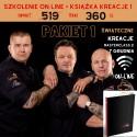 7.12 PAKIET 1 Masterclass 2 KREACJE ŚWIĄTECZNE Szkolenia ON-LINE + Książka