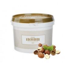 3kg PASTA NOCCIOLA ROMA SCURA skoncentrowana pasta mocno prażony orzech laskowy 12337 BABBI