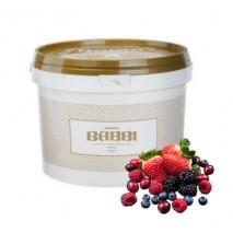 3kg VARIEGATO FRUTTI DI BOSCO pasta owoce leśne do przekładania 12605 BABBI
