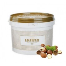 3kg PASTA NOCCIOLA DE LUXE 100% pasta prażony orzech laskowy 12412 BABBI
