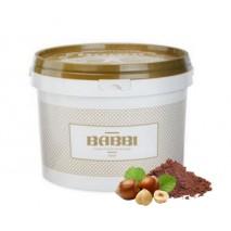 3kg PASTA GIANDUIA TRINACRIA pasta z orzechów laskowych i kakao bez dodatku cukru 12389 BABBI