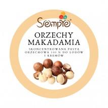 250g ORZECHY MAKADAMIA skoncentrowana pasta 100% do lodów i kremów Sempre